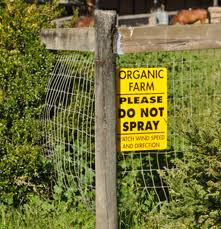 Organic - do not put chemicals in our wines