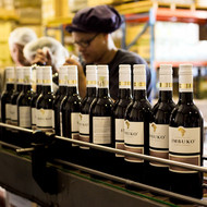 Imbuko wine bottling