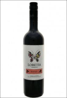 Tempranillo Lobetia Punctum vegan organic wine